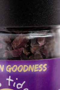 The goodness of Ebb Tides Dulse Seaweed as a Vegan alternative to fish and full of omega 3