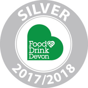 Food & Drink Devon Silver Award 2017