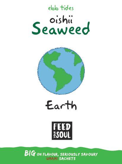 Oishii Earth Seaweed Sprinkles 1