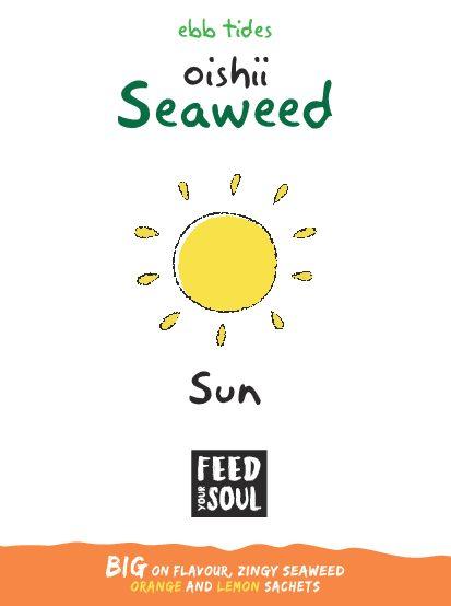 Oishii Sun Seaweed Sprinkles 1