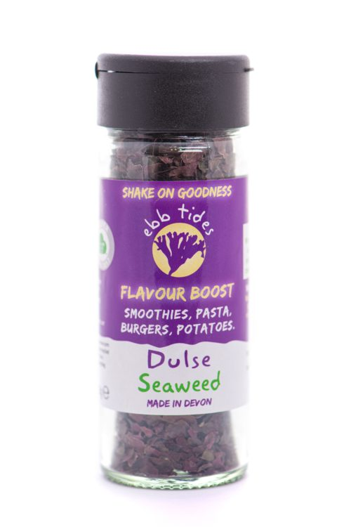 Ebb Tides Dulse - High in protein for people on plant-based diets adding flavour and goodness with just a shake