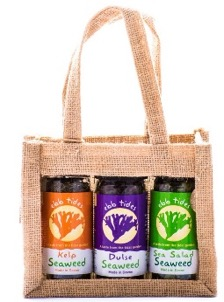 Ebb Tides Shaker Gift Bag ideal gift for friends on a plant-based diet that want to try sea vegetables