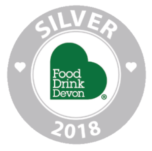 Food & Drink Devon Silver Award 2018 for our Kelp Shaker