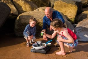 Kids recognise the goodness and love cooking with Ebb Tides Seaweed