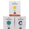 Ebb Tides Oishii Earth, Tide & Sun - Goodness discounted for those wanting to Snack, Sprinkle or Infuse our dried seaweed in a sachet