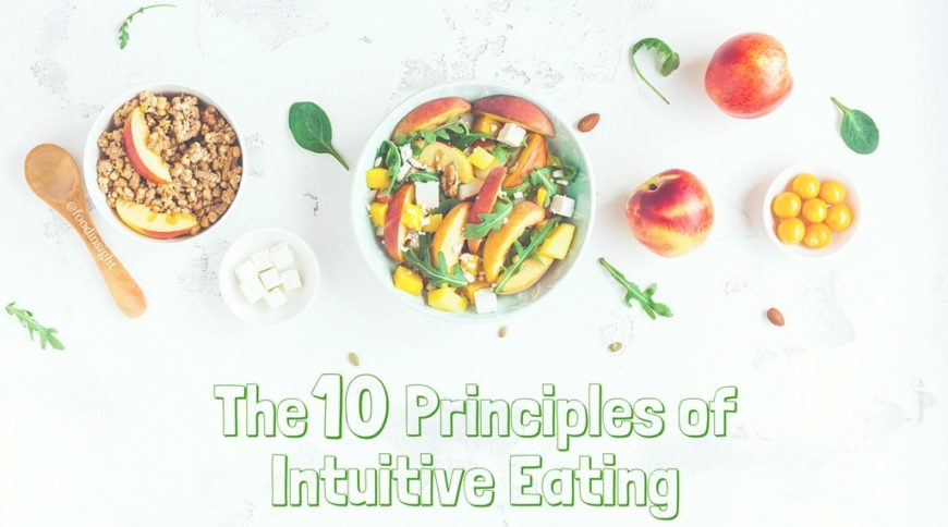 10 Principles  of Intuitive Eating 1